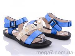 Босоножки, Summer shoes оптом A590 blue