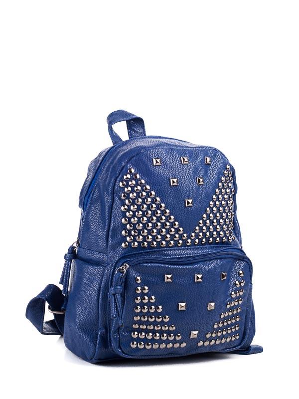 Рюкзаки LITTLE PIGEON blue оптом 24071597 B-030-5