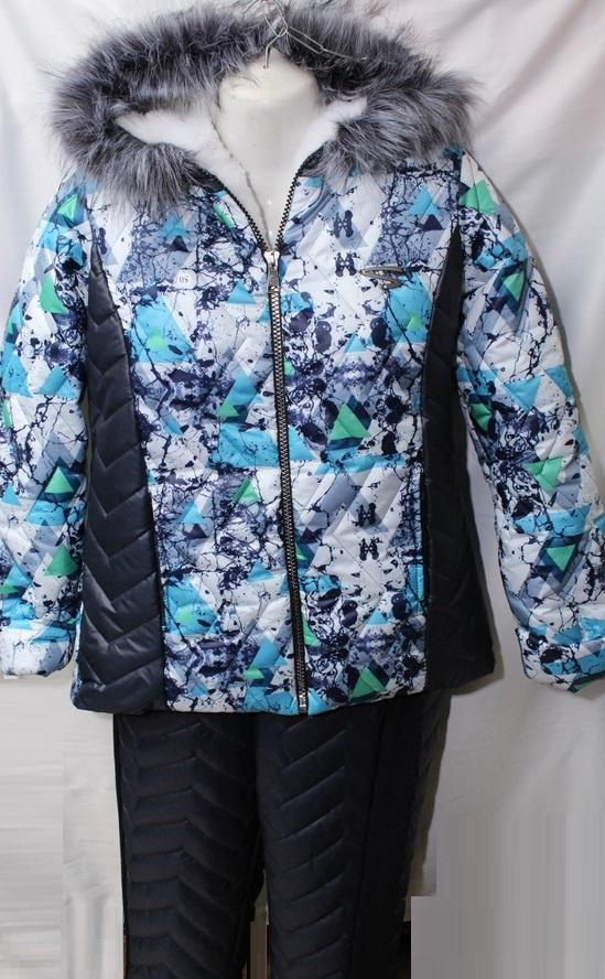 Лыжные костюмы женские Батал оптом 91268470 9583-105