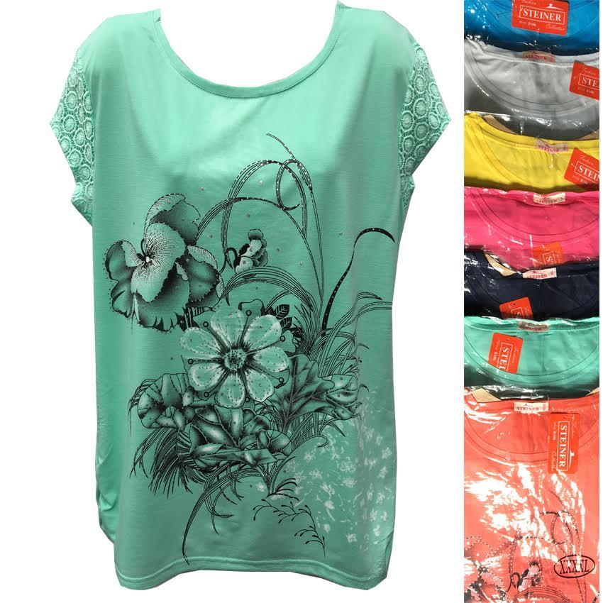 Купить женскую футболки недорого