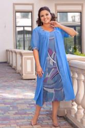 Платья женские БАТАЛ оптом 15739402  05-10