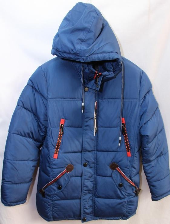 Куртки подростковые зимние оптом 20091076 G710-2