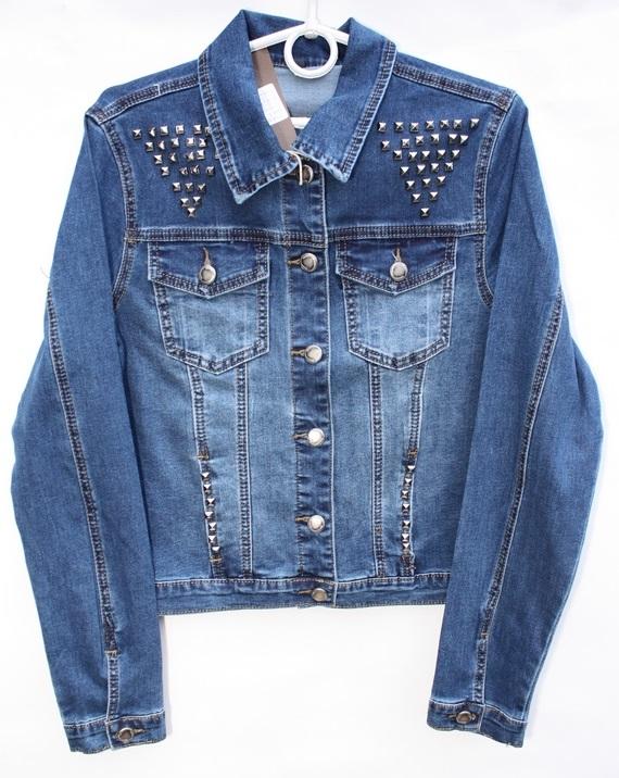 Куртки джинсовые женские оптом 07469832 9305