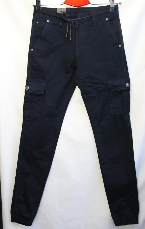 Джинсы мужские BARON темно синие оптом 19071818 6055
