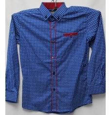 Рубашка подростковая оптом 08021095 6221