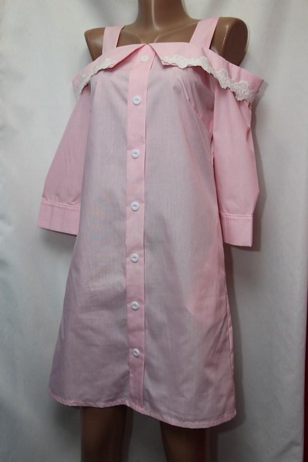 Рубашки женские оптом  06043034 0652-3