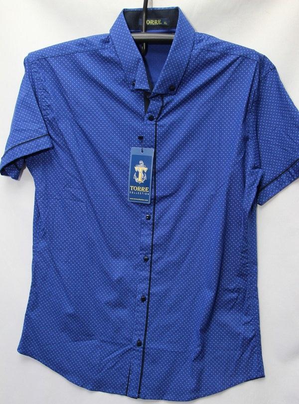 Рубашки мужские Турция оптом 2004523 3636-74