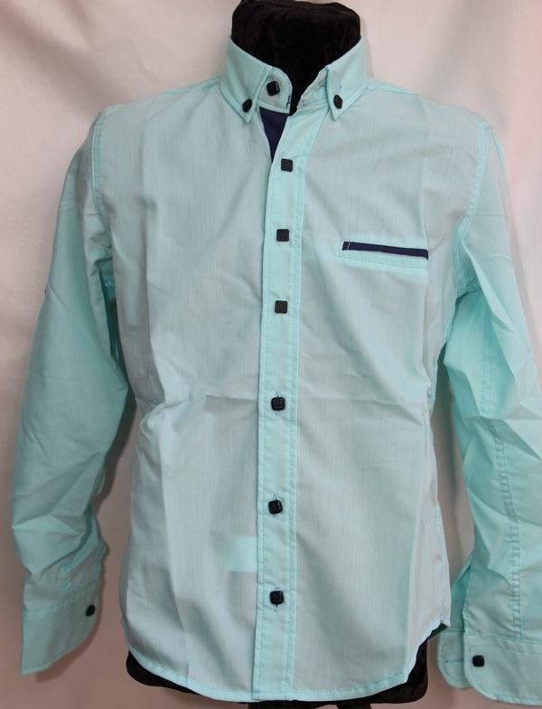 Рубашки подростковые  оптом 39745601 4629-137