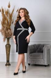 Платья женские БАТАЛ оптом 21436807 0160-27