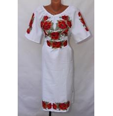 Платье вышитое женское оптом 1307782 005