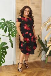 Платья женские БАТАЛ оптом 20916834 25-22