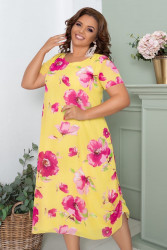 Платья женские БАТАЛ оптом 90467821 01 -1