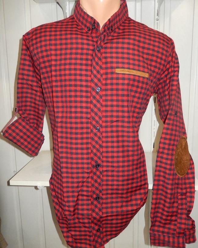 Рубашки мужские полу батал оптом 13081830 5210-7