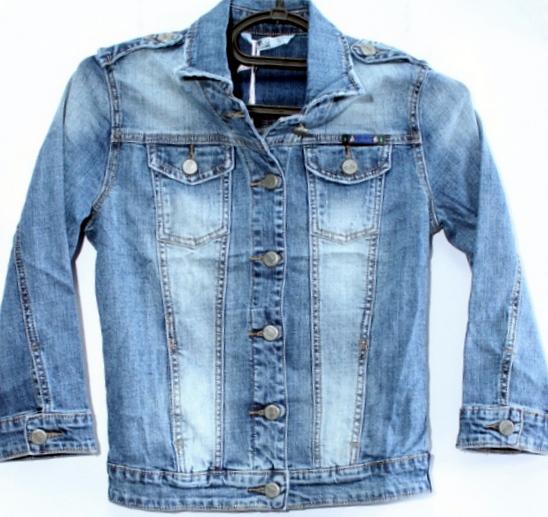 Джинсовые куртки женские ZIJINYAN  оптом 72641503 803