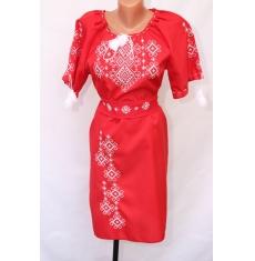 Платье вышитое женское оптом 1307782 009