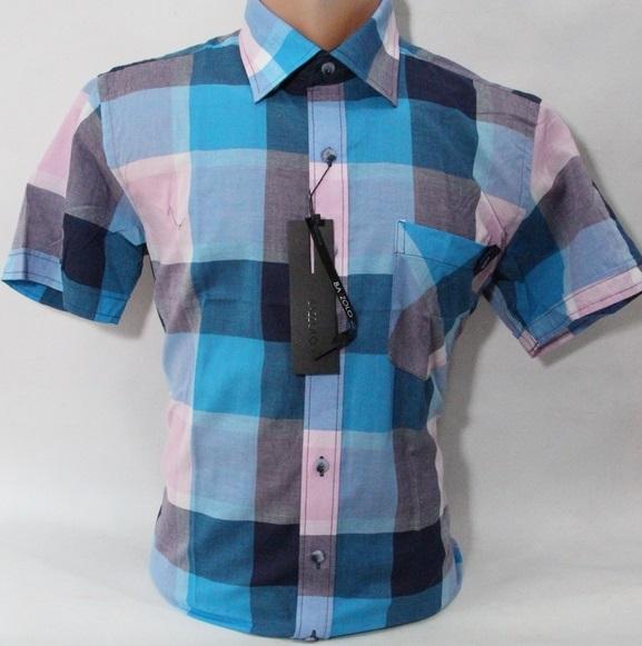Рубашки мужские Турция оптом 57138402 5272-8