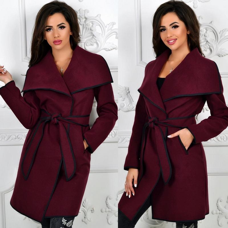 Пальто женские оптом  14105540 341-1-6