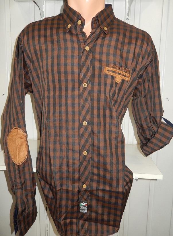 Рубашки мужские полу батал оптом 13081830 5210-9
