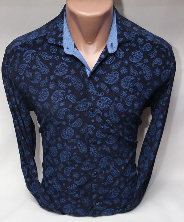 Рубашки мужские Турция оптом 52318947 1619-59