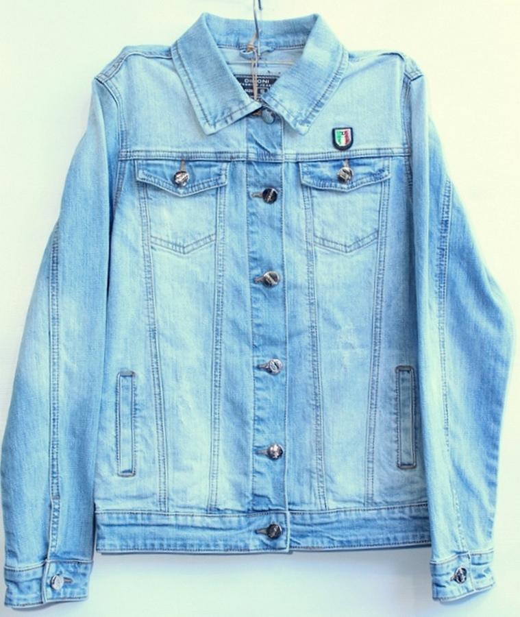 Куртки джинсовые женские DIMONI оптом 85792316 1095