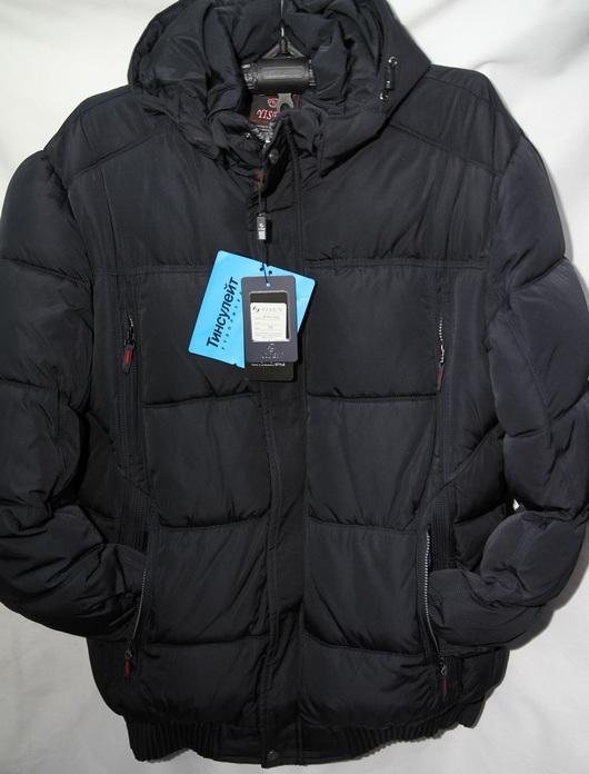 Куртки мужские БАТАЛ зимние оптом 14035972 0059-83