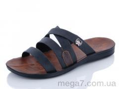 Шлепки, Makers Shoes оптом 3528 черный
