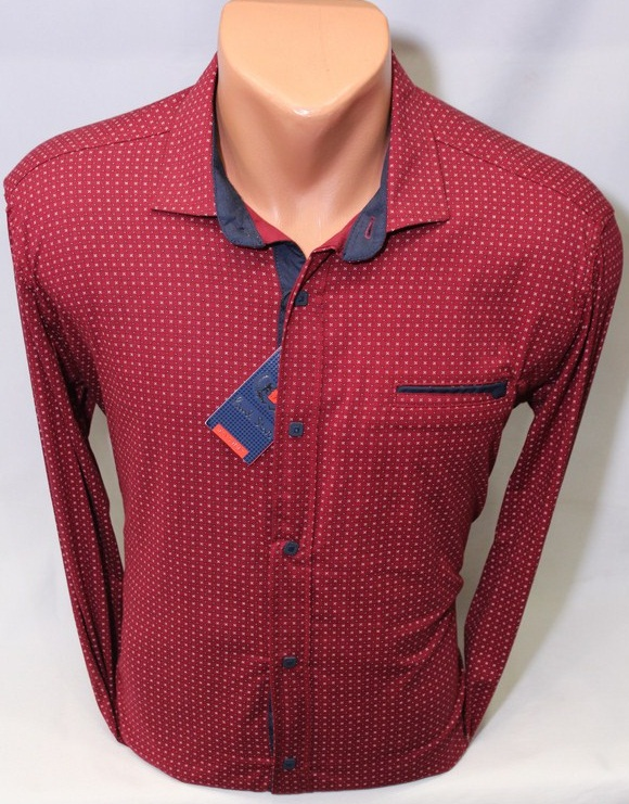 Рубашки PAUL STAR мужскиеТурция оптом 73268195