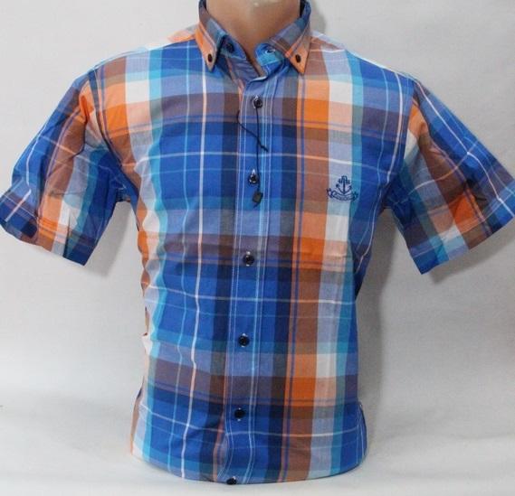 Рубашки мужские Турция оптом 35780412 0716-10
