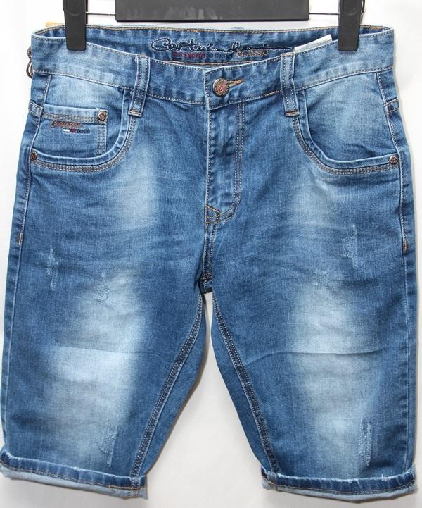 Шорты джинсовые юниор оптом 29051670 7604