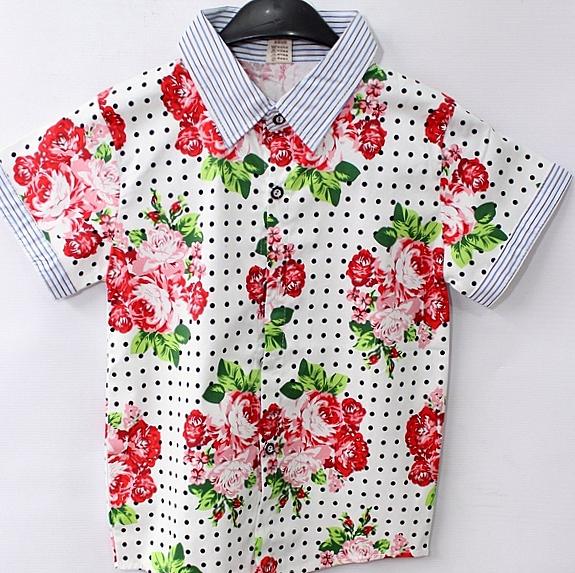 Рубашки детские оптом 61924358 1-14