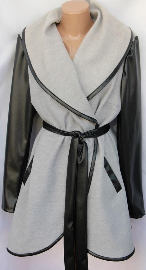 Пальто женское полубатал оптом 67458139 007-1-1