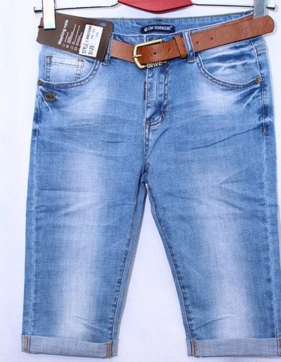 Капри женские джинсовые оптом 07682931 8925