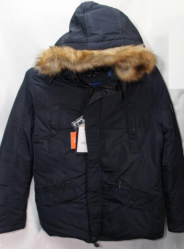 Куртки мужские SOELUOS оптом 61845790 9655-2