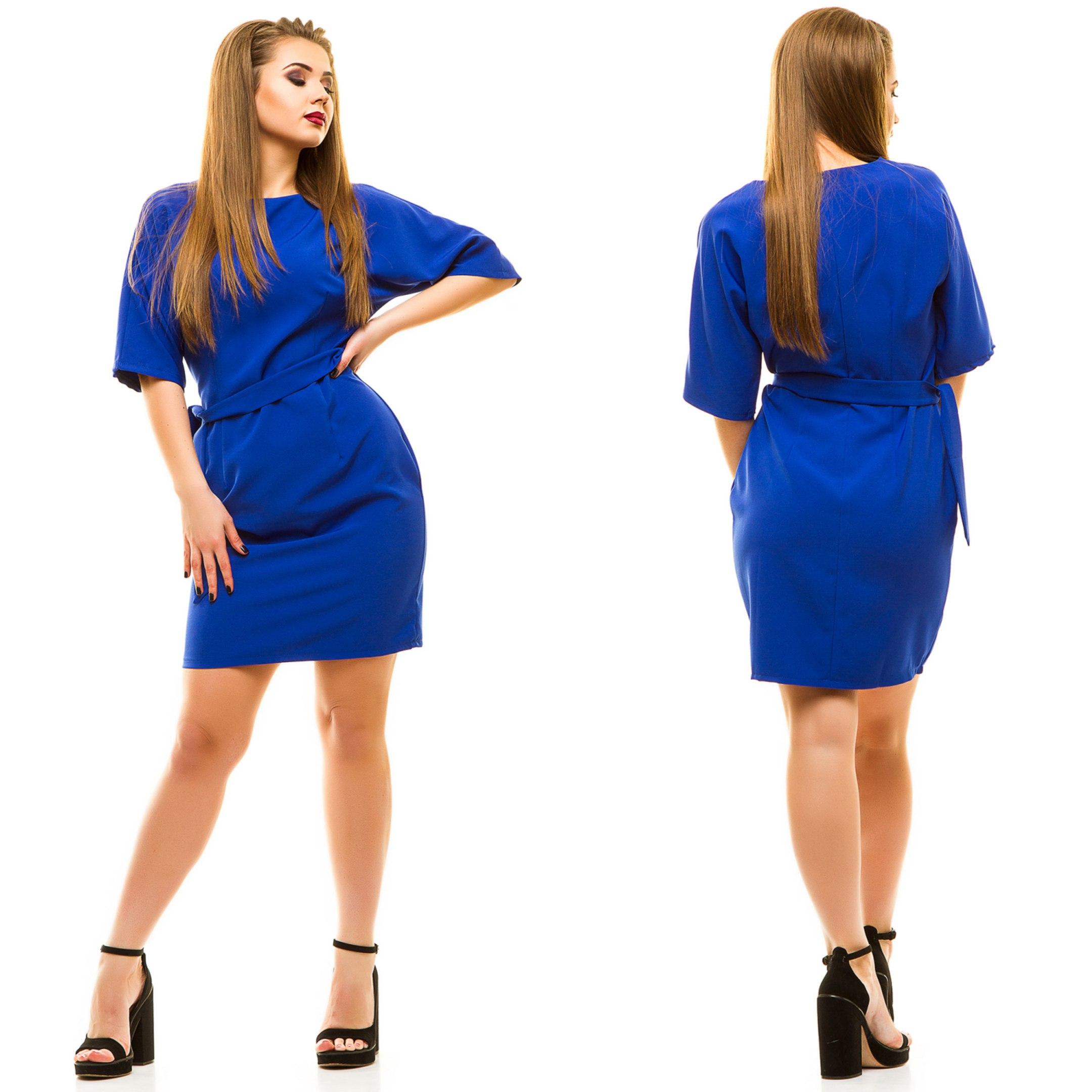 Платья женские оптом  18044683 5002-7