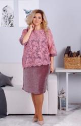 Платья женские БАТАЛ оптом 82137095 19-41