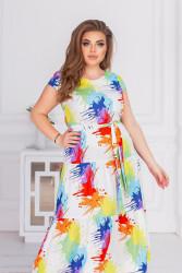 Платья женские БАТАЛ оптом 52984637 12-14