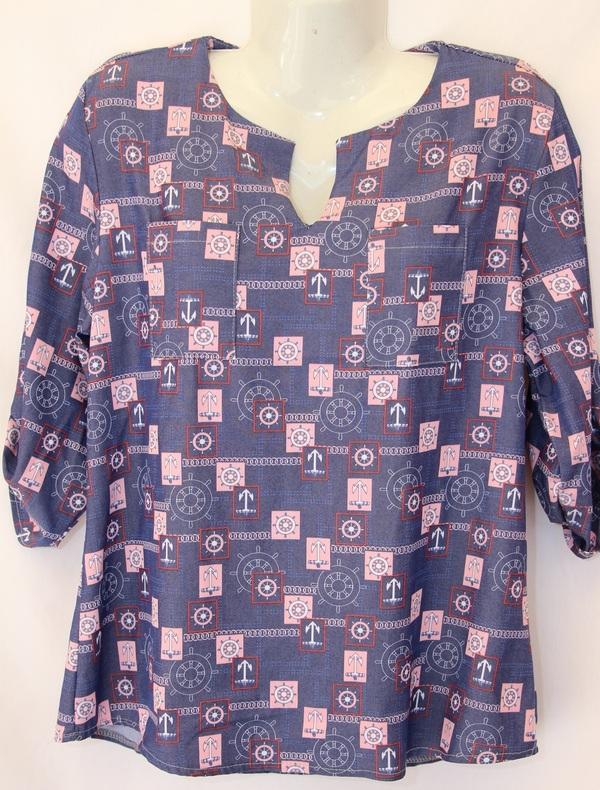 Рубашки женские оптом 0205404 7542-6