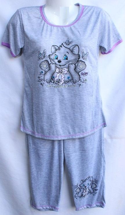Ночные пижамы  женские оптом 94607238 056-1
