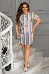 Платья женские БАТАЛ оптом 32014678 07-9