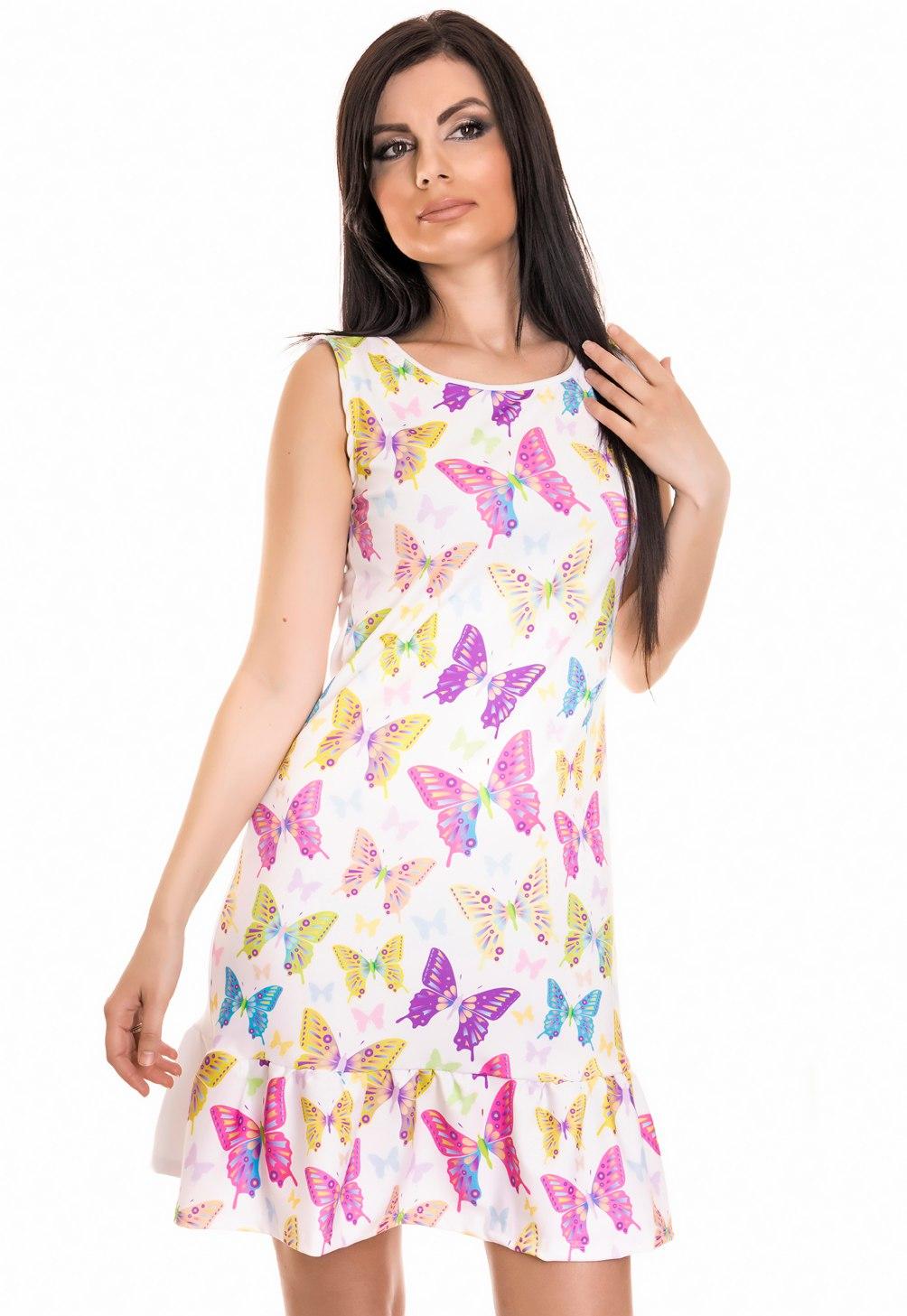 Платье женское оптом 19042335 924-1