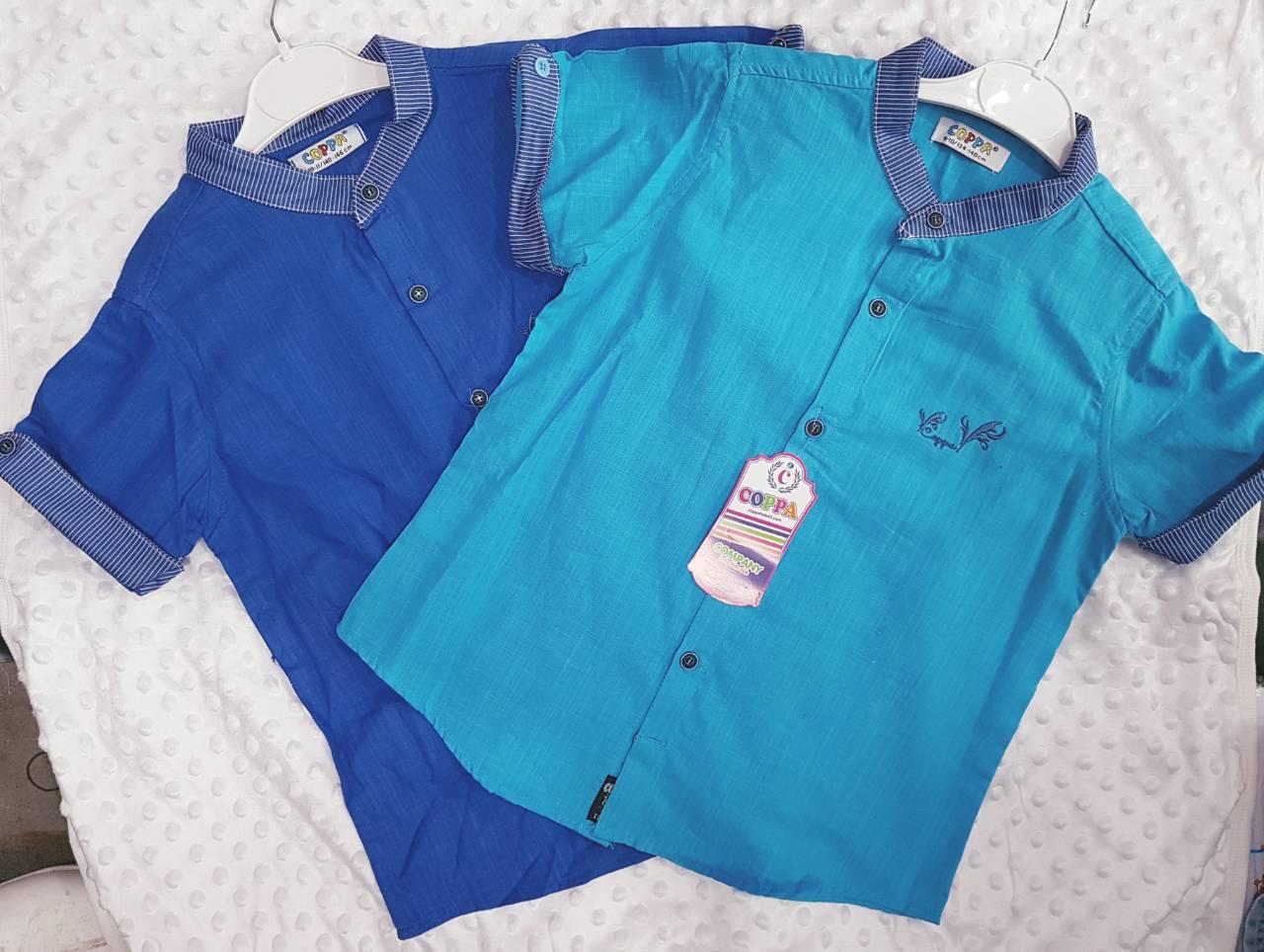Рубашки детские на мальчика оптом 58014367 6-7