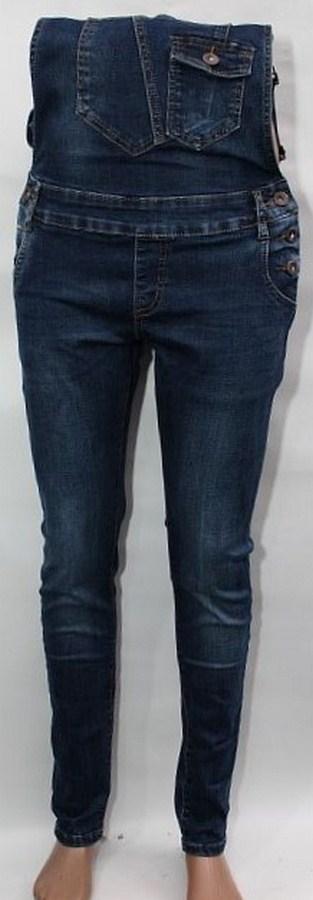 Комбинезоны джинсовые женские оптом 13729486 1170