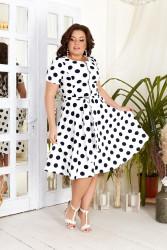 Платья женские БАТАЛ оптом 98742135  06-1