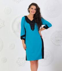 Платья женские БАТАЛ оптом 14028356 17086-4