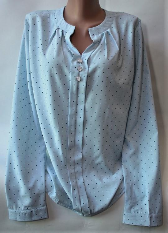 Рубашки женские ПОЛУБАТАЛ оптом 39754106 208-1
