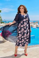 Платья женские БАТАЛ оптом 93146572 27-33