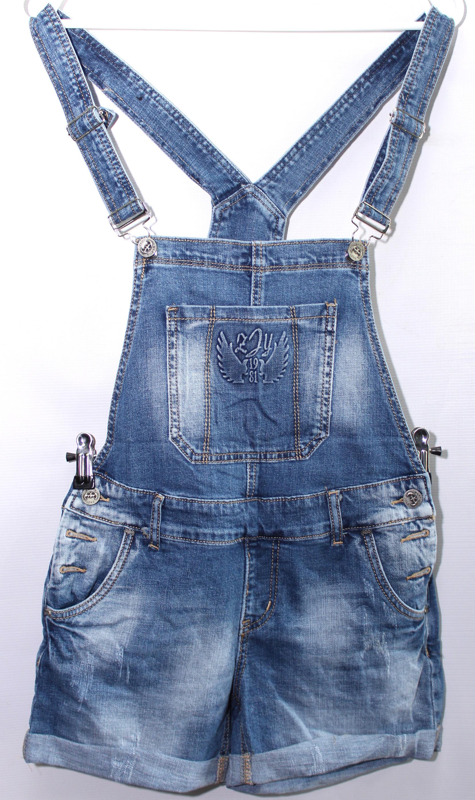 Комбинезоны джинсовые женские ZJY  оптом 23609845 068-29