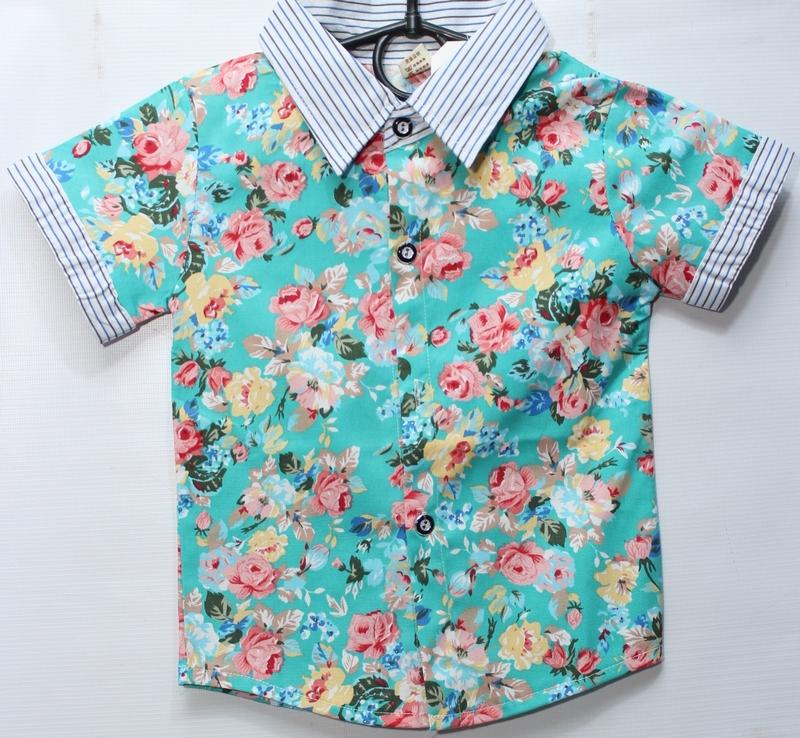 Рубашки детские оптом 43829517 1-18