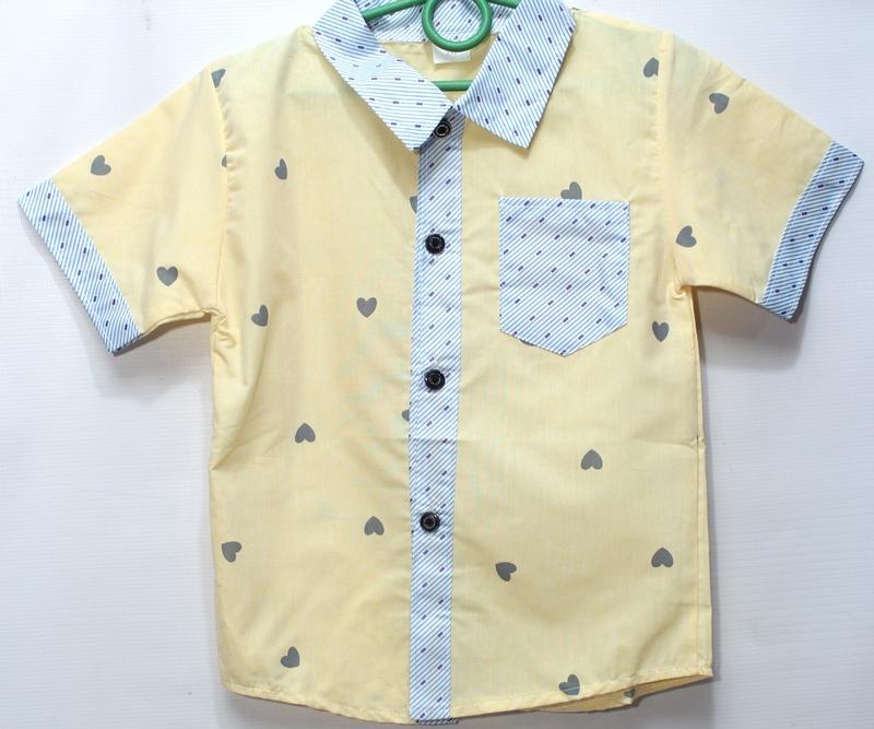 Рубашки детские оптом 40519276 1-14