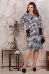 Платья женские БАТАЛ оптом 79286103 11-5